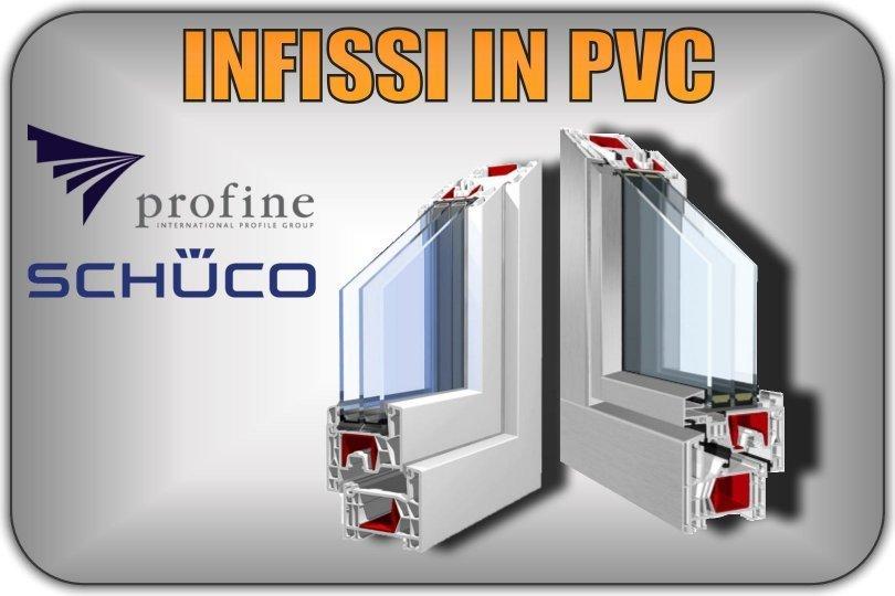 Infissi in pvc e serramenti in pvc e alluminio biella finestre for Preventivo serramenti in pvc